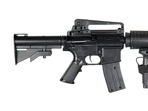 UK  4 UK ARMS P1158CA Spring Airsoft Rifle M4A1 Carbine M4 AR15 AR-15 Assault Rifle