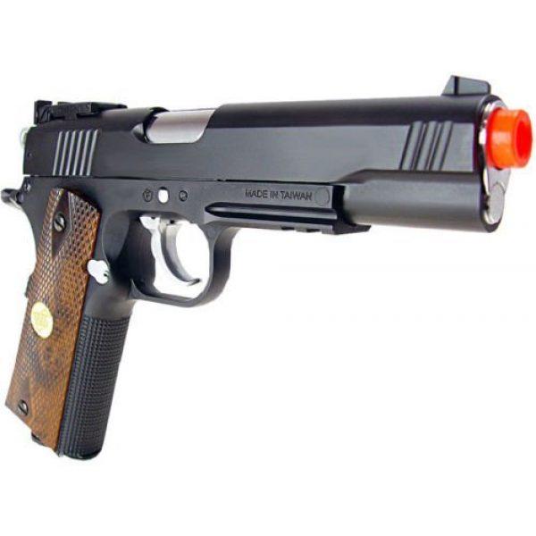 WG Airsoft Pistol 6 500 fps new full metal wg airsoft m 1911 gas co2 hand gun pistol w/ 6mm bb bbs(Airsoft Gun)