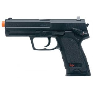 Elite Force Airsoft Pistol 1 HK Heckler & Koch USP 6mm BB Pistol Airsoft Gun, Standard Action, Black