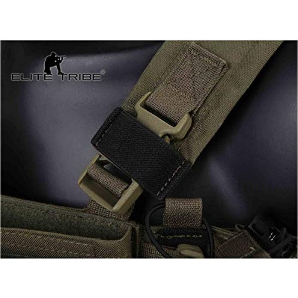 Elite Tribe Airsoft Tactical Vest 3 Elite Tribe MK3 Modular Lightweight Chest Rig Micro Fight Chissis 5.56 Mag Pouch