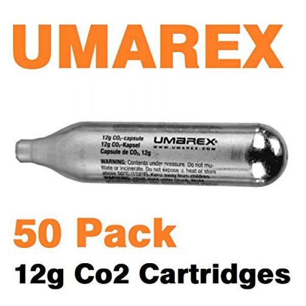 Swiss Arms Airsoft Tool 2 Swiss Arms Umarex Pack of 50 12g Co2 Gas Capsule Cartridge Air Rifle Pistol Gun Airgun 12 Gram