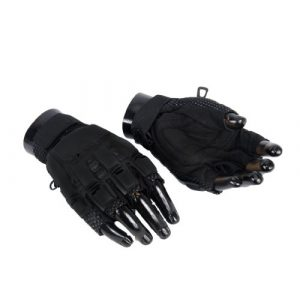 Lancer Tactical Airsoft Glove 1 Lancer Tactical Kevlar Airsoft Tactical Hard Knuckle Gloves - Black