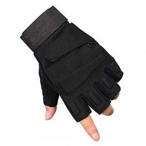 ThreeH Airsoft Glove 1 ThreeH Sports Gloves Half Fingers Wear Rsistant Sports Gloves GL06
