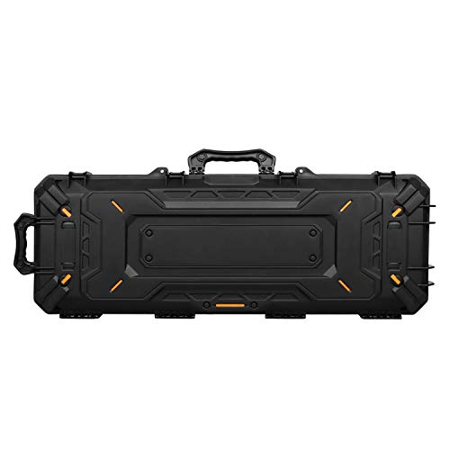 OneTigris Airsoft Gun Case 2 OneTigris Hard Gun Case Watertight Protective Case with Customizable Foam for Pistol (Black - 45L)