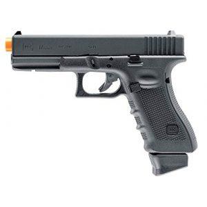 "Umarex USA Airsoft Pistol 1 Umarex USA, Glock Air Pistols, Model 17 Gen 4, 6mm, 3 3/4"" Barrel, Fixed Sights, Black"