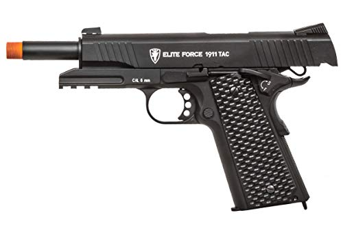 Elite Force Airsoft Pistol 3 Elite Force 1911 Gen 3 Tactical CO2 Blowback Airsoft Pistol (Black)