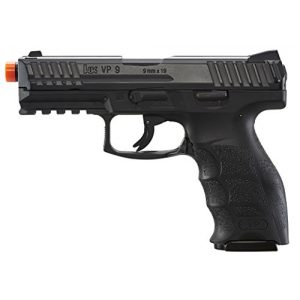 "Umarex USA Airsoft Pistol 1 Umarex USA, H&K VP9, 6mm, 3 1/2"" Smooth Barrel, 14 Rounds, Black"