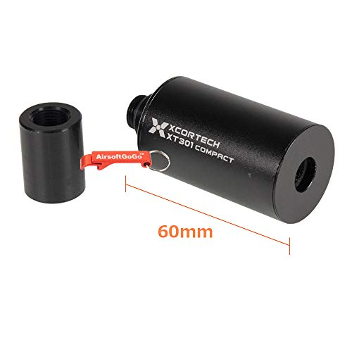 XCORTECH Airsoft Tool 2 Xcortech XT301 60mm Compact Tracer (11mm CW to 14mm CCW