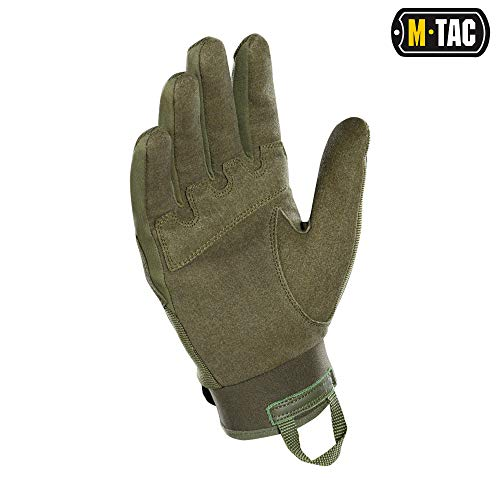 M-Tac Airsoft Glove 2 M-Tac Tactical Gloves Full Finger Assault Airsoft Protective Gear