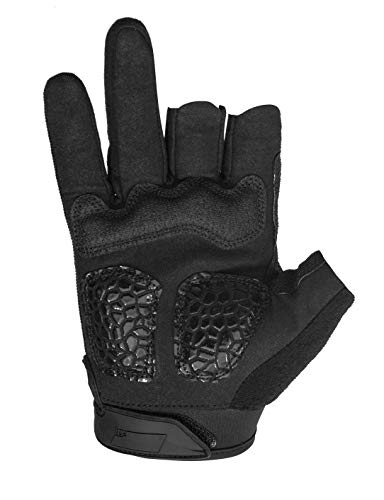Seibertron Airsoft Glove 4 Seibertron T.T.F.I.G 2.0 Men's Tactical Military Gloves Flexible Rubber Knuckle Protective for Combat Hunting Hiking Airsoft Paintball Motorcycle Motorbike Riding Outdoor Gloves