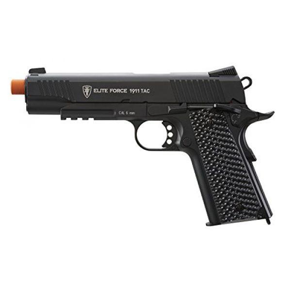 Elite Force Airsoft Pistol 1 Elite Force 1911 Blowback 6mm BB Pistol Airsoft Gun, Black, 1911 TAC, 2279555
