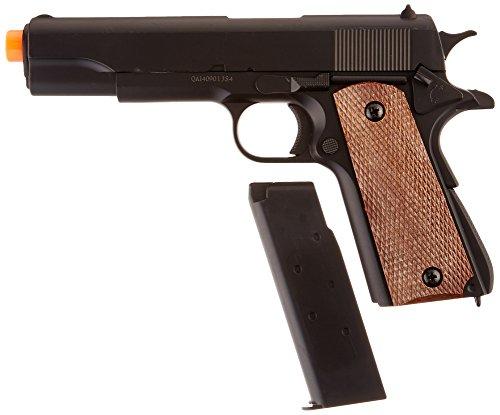 BBTac Airsoft Pistol 4 BBTac BT-1911A1 Metal and ABS Spring Airsoft Pistol 250-FPS Airsoft Gun
