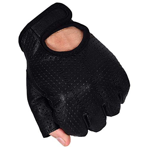 Max5 Airsoft Glove 5 Max5 Men's Fingerless Motorcycle Gloves
