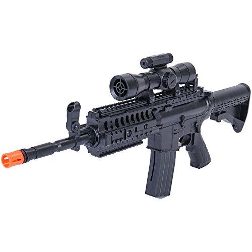 UKARMS Airsoft Rifle 5 UKArms M4 A1 M16 TACTICAL ASSAULT SPRING AIRSOFT RIFLE PELLET SNIPER GUN 6mm BB BBs Air