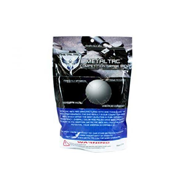 MetalTac Airsoft BB 3 MetalTac Airsoft BBS .25g 8000 Rounds Match Grade BB Pellet, 0.25 Gram 6mm for Airsoft Guns Ammo