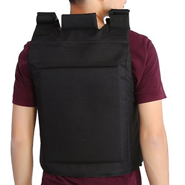 Vbestlife Airsoft Tactical Vest 4 Tactical CS Field Vest Outdoor Tactical Vest Hunting Security Guard Waistcoat CS Field Combat Training Protective Vest for Adult Airsoft Games Boys Costumes