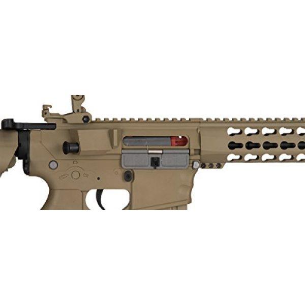 Lancer Tactical Airsoft Rifle 7 Lancer Tactical GEN 2 M4 Custom Body AEG Metal Gear Electric Airsoft Rifle - TAN