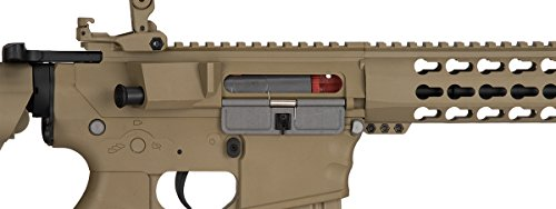 Lancer Tactical  7 Lancer Tactical GEN 2 M4 Custom Body AEG Metal Gear Electric Airsoft Rifle - TAN