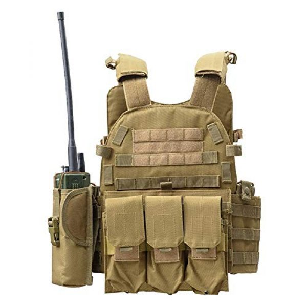 Shefure Airsoft Tactical Vest 7 Shefure Outdoor Hunting Vests Tactical Vest Military Men Clothes Army CS Equipment Accessories Airsoft Body Armor Painball Vest