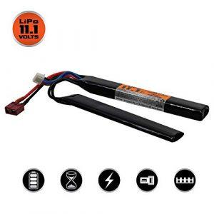 Valken Airsoft Battery 1 Valken Airsoft Battery - LiP0 11.1v 1200mAh 30c Split Style(Dean)
