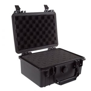 Stalwart Airsoft Gun Case 1 Gun and Camera Case - Waterproof Carrying Case with Foam for Pistols
