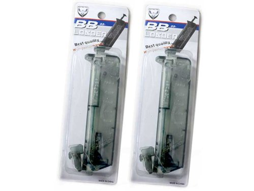 MetalTac Airsoft Tool 5 Two Pack of MetalTac Airsoft Speed Loader 100 RDS