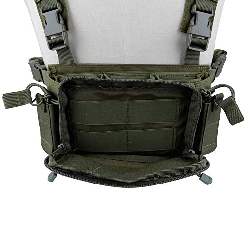 Kayheng Airsoft Tactical Vest 6 Kayheng Tactical Vest Airsoft Ammo Chest Rig 5.56 9mm Magazine Carrier with Molle Flatpack Backpack