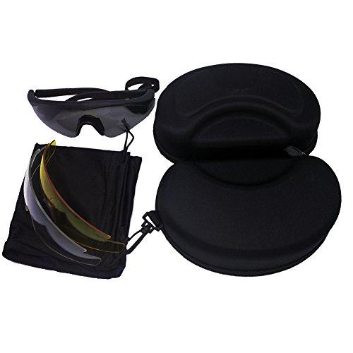Airsoft Combat Anti-Fog Safety Eyewear