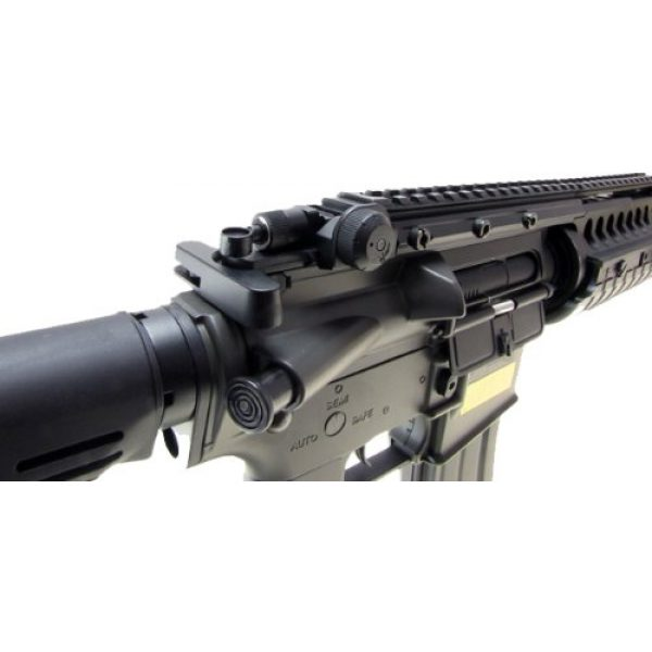 Jing Gong (JG) Airsoft Rifle 5 JG m4a1 s-system aeg electric airsoft gun - black(Airsoft Gun)