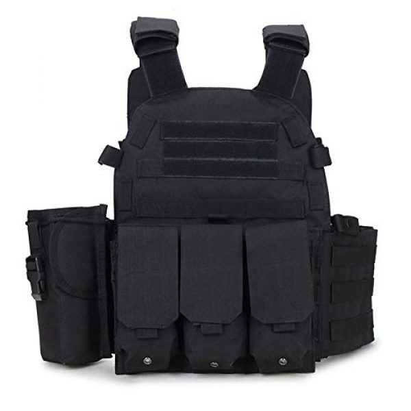 Shefure Airsoft Tactical Vest 6 Shefure Outdoor Hunting Vests Tactical Vest Military Men Clothes Army CS Equipment Accessories Airsoft Body Armor Painball Vest