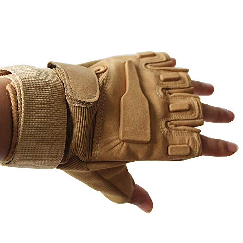 COTNOW Airsoft Glove 2 Tactical Sports Fingerless Gloves-Half Finger Gloves Military Gloves