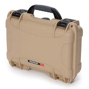 Nanuk Airsoft Gun Case 5 Nanuk 909 Pistol Case W/Foam (Tan)