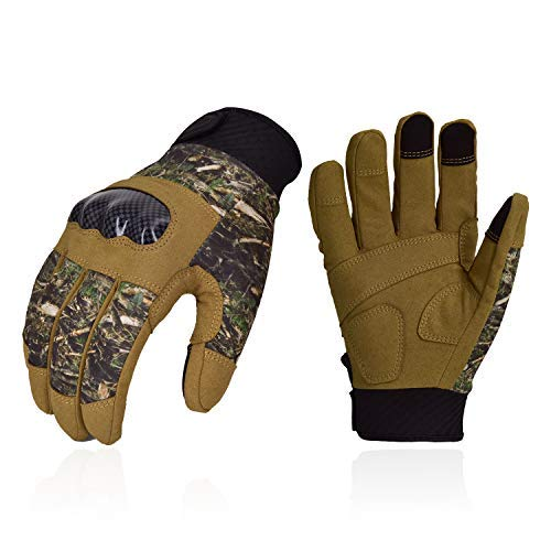 Vgo... Airsoft Glove 1 Vgo... Unisex Full Finger Touch Screen Tactical Military Gloves Hard Knuckle Gloves for Hunting