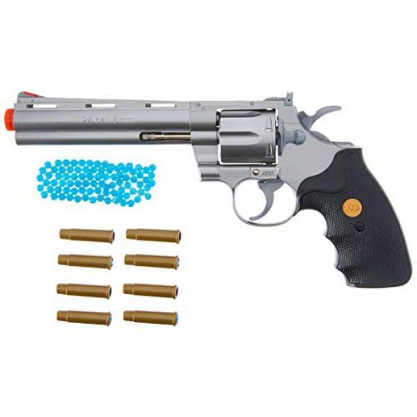 TSD Airsoft Pistol 2 TSD Sports UA938S 6 Inch Spring Powered Airsoft Revolver (Silver)