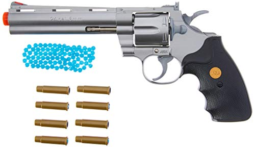 TSD Airsoft Pistol 2 TSD Sports UA938S 6 Inch Spring Powered Airsoft Revolver (Silver)