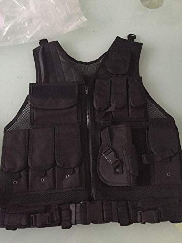 Fouos Airsoft Tactical Vest 5 Fouos Tactical Vest Camouflage Vest Body Armor Molle Outdoor Equipment Paintball Airsoft Combat Protective Vest Men