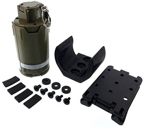SportPro Airsoft Battery 1 SportPro 110 Round Plastic Spring Powered BB Impact Shower with Holder for Airsoft - Green