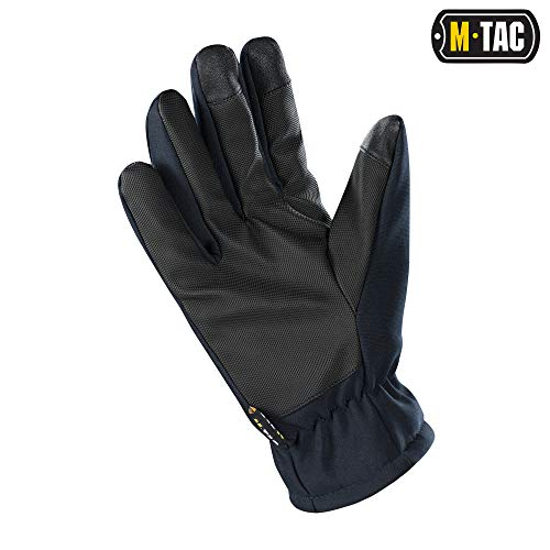 M-Tac Airsoft Glove 2 M-Tac Tactical Winter Soft Shell Gloves Water Resistant Insulated Army Military