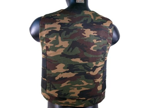 Padded Cushion (Woodland Camo)
