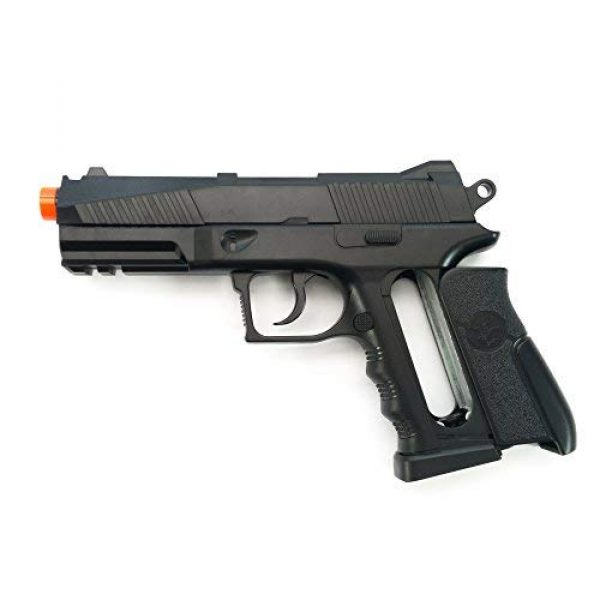Black Ops Airsoft Pistol 3 Black Ops BR45 Airsoft Pistol - CO2 High Powered 6mm Airsoft Gun