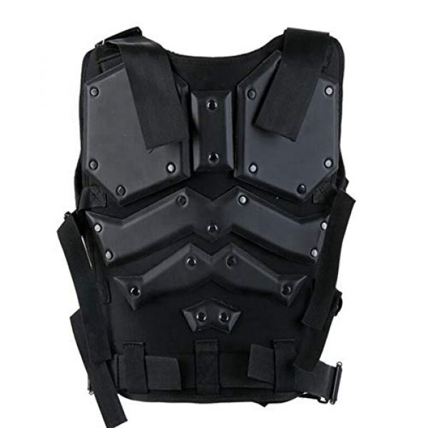 Shefure Airsoft Tactical Vest 2 Shefure Airsoft Tactical Vest Black Swat Body Armor Hunting CS Wargame Paintball Vest Waistcoat with 5.56 Magazine Pouches