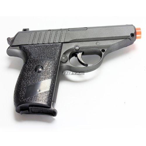 BBTac Airsoft Pistol 3 BBTac ZM02 Spring Pistol Metal Body and Slide Sub-Compact Pocket 220 FPS Concealable Airsoft Gun