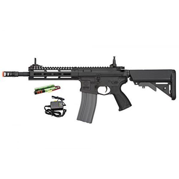 G&G Airsoft Rifle 1 G&G CM16 Raider 2.0 6mm AEG Airsoft Rifle in Black w/Battery & Charger
