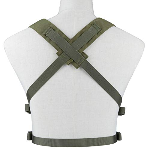 DETECH Airsoft Tactical Vest 4 DETECH Tactical Vest Airsoft Ammo Chest Rig 5.56 9mm Magazine Carrier with Molle Flatpack Backpack