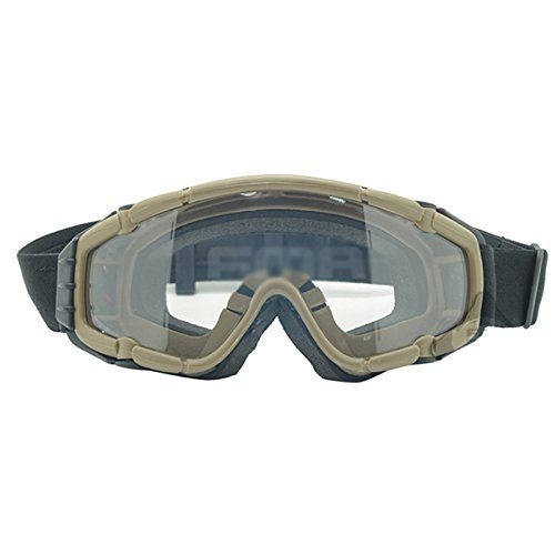 ATAIRSOFT Airsoft Goggle 3 ATAIRSOFT Wind-Shield Protective Airsoft Ski Bike Goggles Mini Fan System