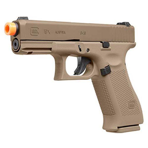 Umarex Airsoft Pistol 1 Umarex Glock 19X GBB Blowback 6mm BB Pistol Airsoft Gun, Glock 19X Airsoft Gun (2276328)