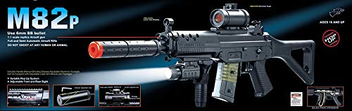 Double Eagle  1 Double Eagle M82 Full Auto Airsoft Electric Gun Folding Stock 200fps