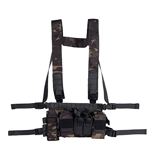 Trdio Airsoft Tactical Vest 4 Trido Chest Rig Tactical Airsoft