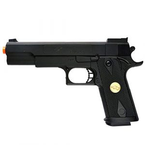 Double Eagle Airsoft Pistol 1 Double Eagle A&N 275FPS P169 1911 Airsoft Hand Gun Full Size Spring Pistol w 6mm BBS BB Fantastic Starter Airsoft Pistol Government .45