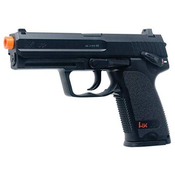 Elite Force Airsoft Pistol 2 HK Heckler & Koch USP 6mm BB Pistol Airsoft Gun, Standard Action, Black